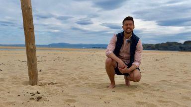 Sean Batty travels around Scotland in his new show.