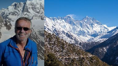 Missing: Martin Moran was climbing in the Himalayas.