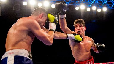 Connor Law: Tributes have been paid to the super-middleweight champion.