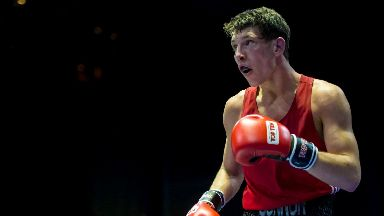 Boxing: Connor Law started his career at Glenrothes Amateur Boxing Club.