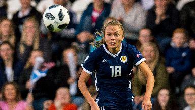 Claire Emslie has represented Scotland 25 times.