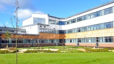 Buchanan High School in North Lanarkshire.