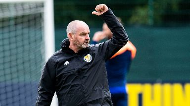 Steve Clarke: He is confident ahead of match against Cyprus.