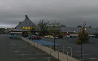 Morrisons: Man found dead in car park.