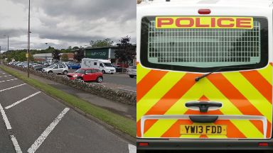 Dunblane: The Schoolboy was said to have been grabbed.