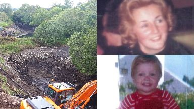 Renee MacRae: A search is being carried out at the quarry.