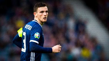 Andy Robertson is not in the Scotland team.