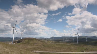 Perthshire: The Griffin farm is one of 16 operated by SSE Renewables.