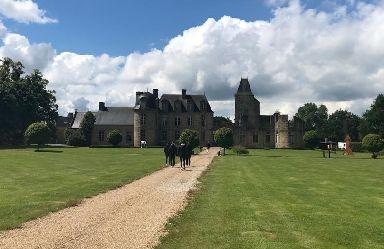 Scotland are based in a 17th-century castle.