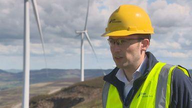 Green energy: SSE Renewables' Andrew Allan.