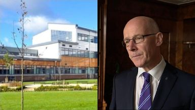 Investigation: John Swinney has ordered inquiry into school campus.