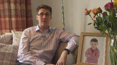 David Linden: MP's three-year-old son Isaac was also born pre-term.