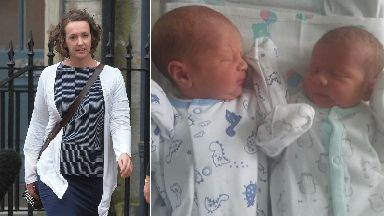Pauline Cafferkey: The mum gave birth in Glasgow.