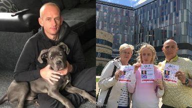 Missing: Bryan Glencross was last seen leaving Queen Elizabeth University Hospital.