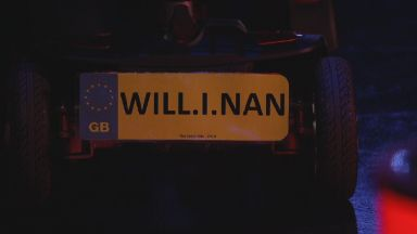 Will.I.Nan: Gran's mobility scooter.