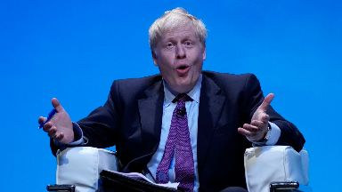 Boris Johnson: A survey was conducted.