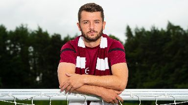 Craig Halkett made the switch from Livingston to Hearts.