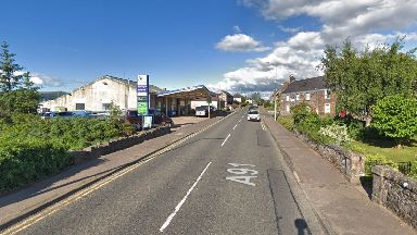 Fife: The incident happened on Low Road, Auchtermuchty.