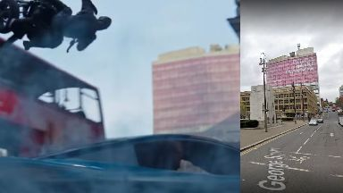 Glasgow: George Square makes an appearance in the final trailer.