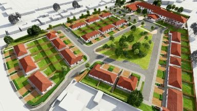 Plans: The development is the first-of-its kind in Scotland.