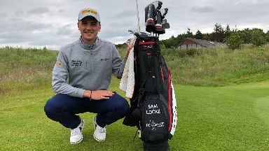 Locke: The pro golfer is delighted to qualify for The Open.