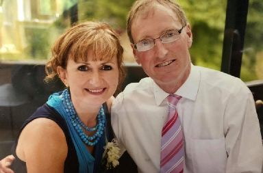 Perth: Richard Selley lives with wife Elaine, also his carer.