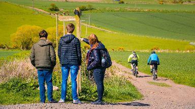 Markinch: Walking in the heart of Fife.
