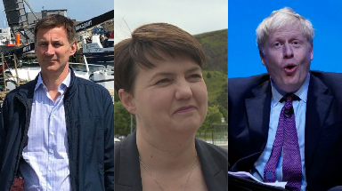 Ruth Davidson: Next leader must be able to pull country together.