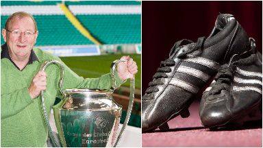 The boots helped secure the European Cup for Celtic in 1967.