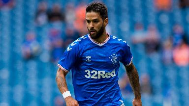 Daniel Candeias during Rangers' friendly against Oxford on Sunday.