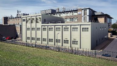 An artist's impression of the new lab.
