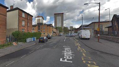 Glasgow: Emergency services were called to Fernbank Street.