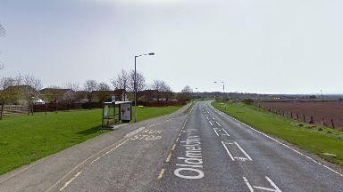 Aberdeenshire: The schoolgirl was struck as she got off a bus.