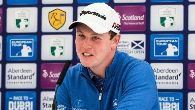 Robert MacIntyre: Will be in the spotlight at The Renaissance Club.