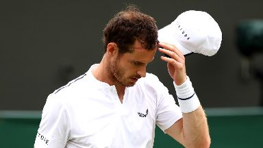 Andy Murray: The Scot had targeted a singles return at the US Open.