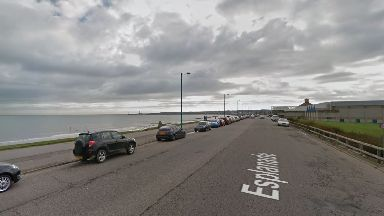 Aberdeen: The teen was hit by the car while cycling along the esplanade.