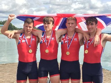 Rowers: Aberdeen schoolboys win Team GB debut.