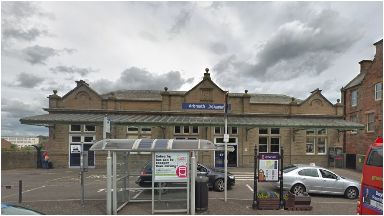 Railway station: two girls attacked in Arbroath.