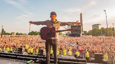 Belter: Gerry Cinnamon at TRNSMT.