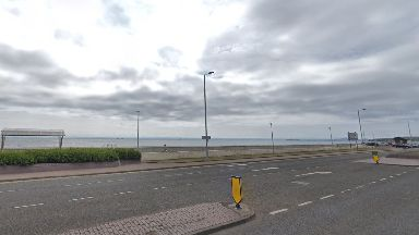 Kirkcaldy: Police were called to the esplanade on Sunday morning.