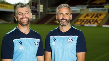 Committed: Stephen Robinson and Keith Lasley have extended their Motherwell contracts.