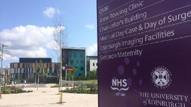 Hospital: NHS Lothian comes under increased government scrutiny.