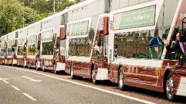 Lothian buses: Strike called off.