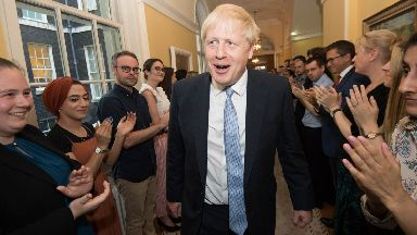 Boris Johnson: Government notes from mid-August revealed in court.