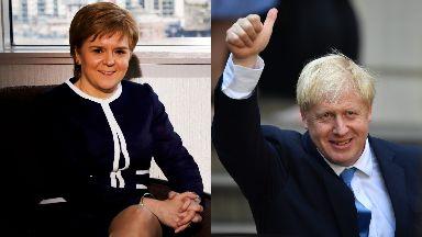 Letter: Nicola Sturgeon has written to Boris Johnson.