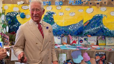 Duke of Rothesay: Prince Charles was due to visit Shetland.