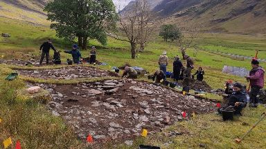 Highlands: The remains of an ancient pub have been discovered.