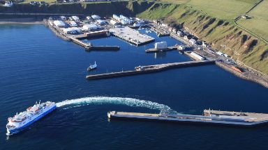 Scrabster Harbour: The port will be upgraded.