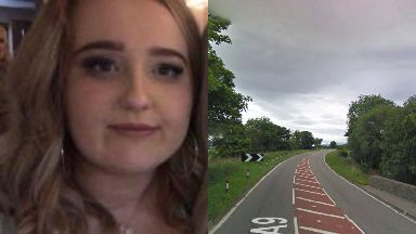 Fatal: Megan Whitehead died following a collision on the A9.