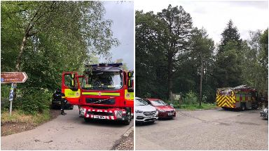 Bracklin Falls: Rescue operation launched.